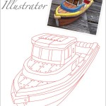 Illustration - Tracing a Boat