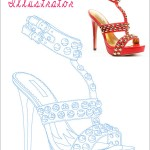 Illustration - Tracing a Shoe